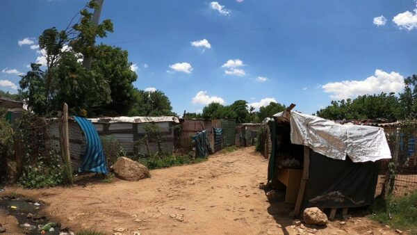 South Africa - Johannesburg, Tin Huts In Kliptown (Soweto)