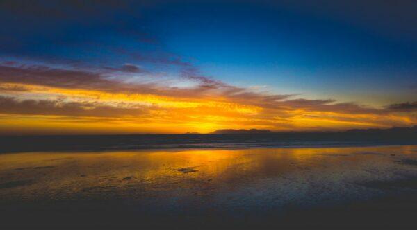 South Africa - Strand, Evening Sky