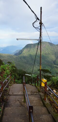 Sri Lanka, Adams Peak Stairs