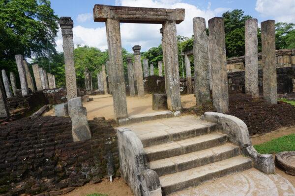 Sri Lanka, Polonnaruwa Atadage