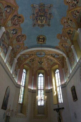 St. Georges' Chapel Inside Ljubljana Castle