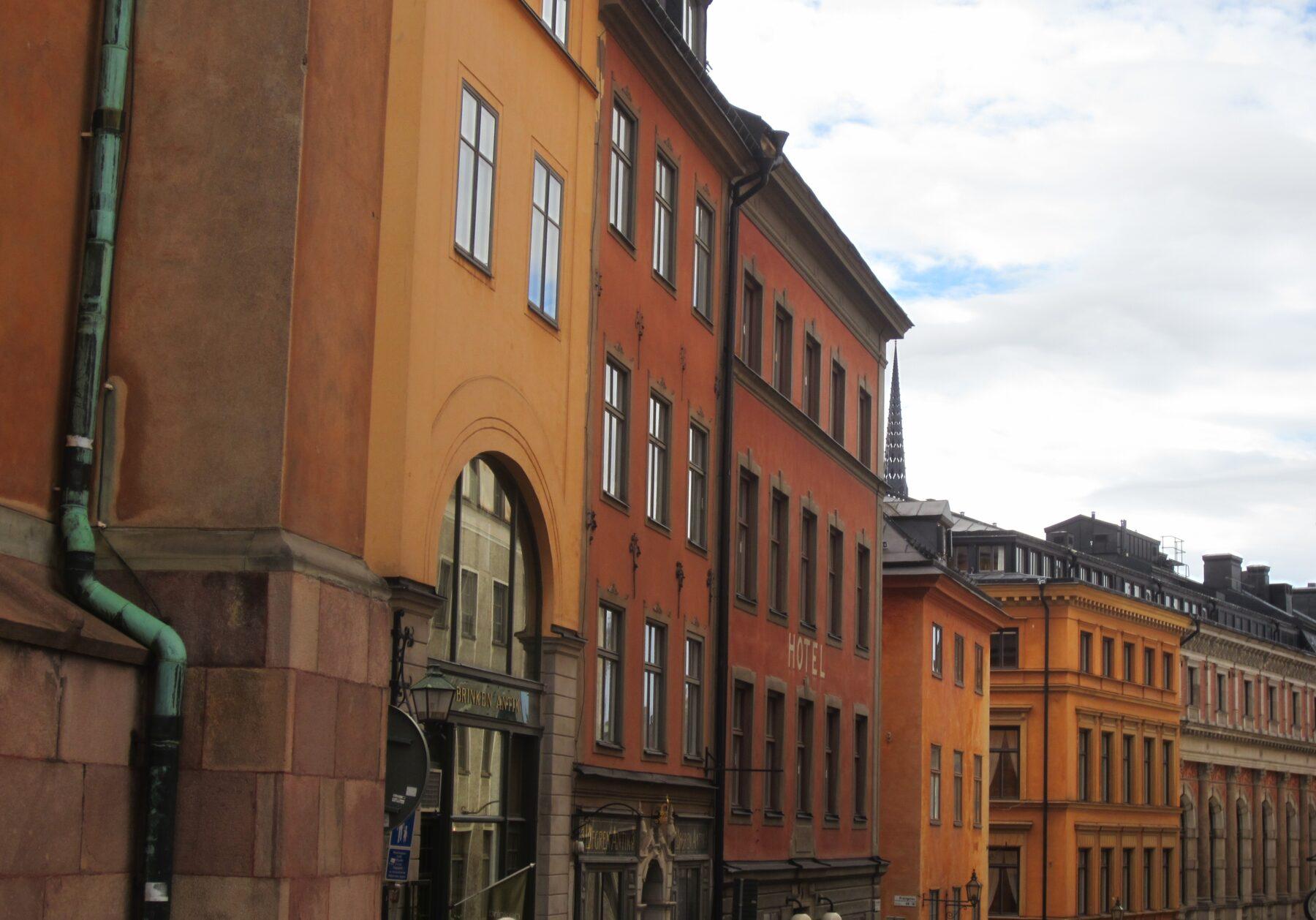 Stockholm, Facade