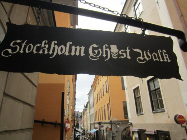 Stockholm, Ghost Walk