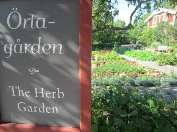 Stockholm - Skansen, The Herb Garden