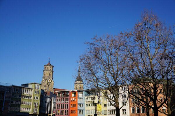 Stuttgart, Colorful Houses