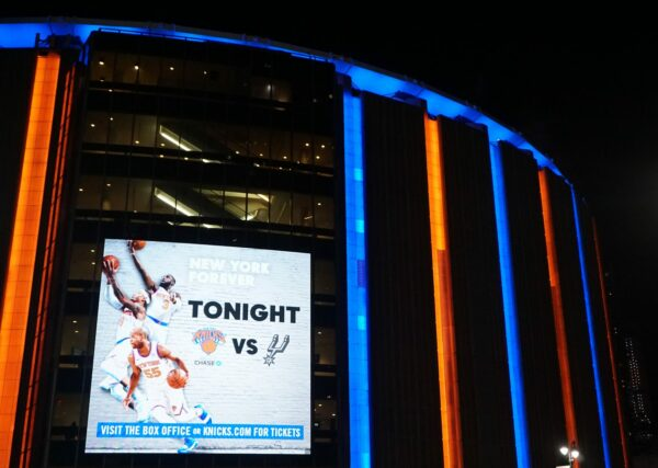 Tonight New York Knicks Vs. San Antonio Spurs