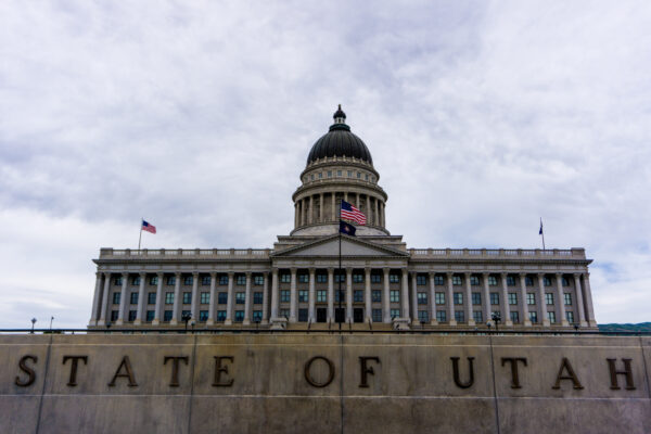 Utah State Capitol At Salt Lake City