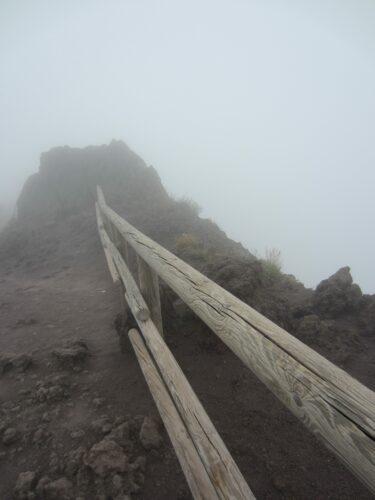 Vesuvio In Fog