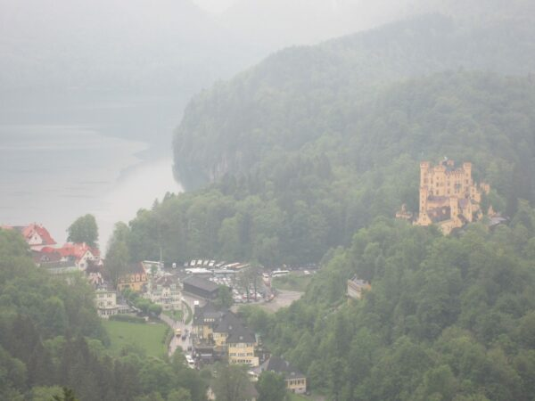 View From Schloss Neuschwanstein To Lake