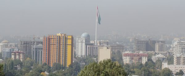 View To Dushanbe City Center