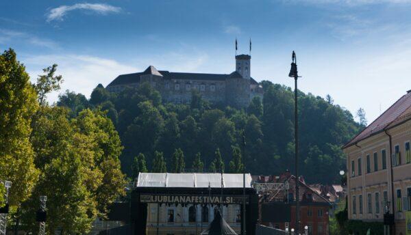 View To Ljubljana Castle