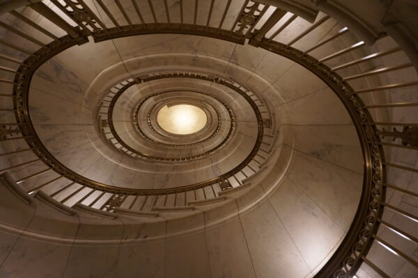 Washington, Spiral Staircase Inside Supreme Court
