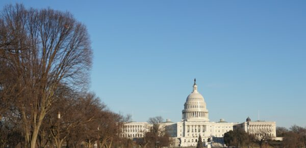 Washington, View To US Capitol