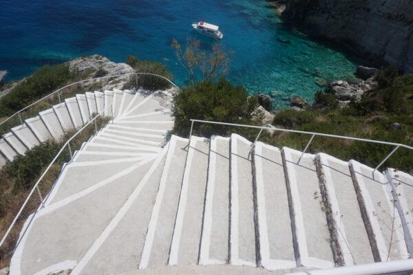 Blue Caves Stairways