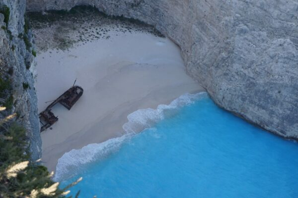 Navagio Shipwreck Beach, View From Top