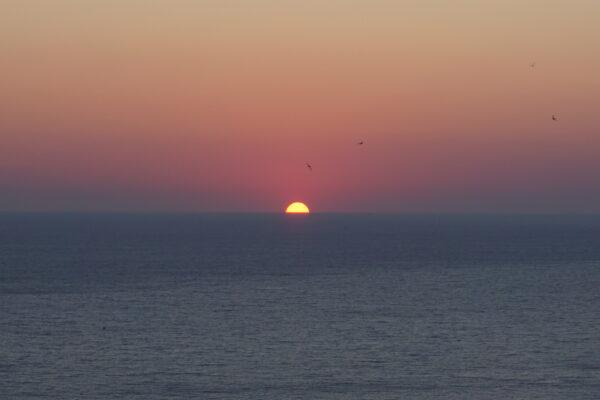 Sundown At Keri Lighthouse