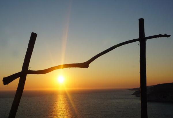 Sunset At Keri Lighthouse